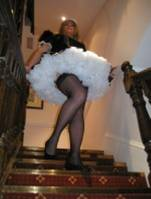 Up Skirt French Maid